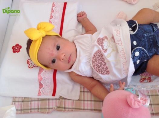 Melina 2m mãe Lorena