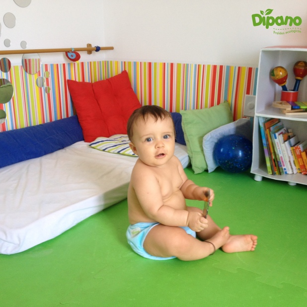 Teodoro, 8 meses, mãe Talita