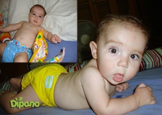Tiago 6m mãe Mariana